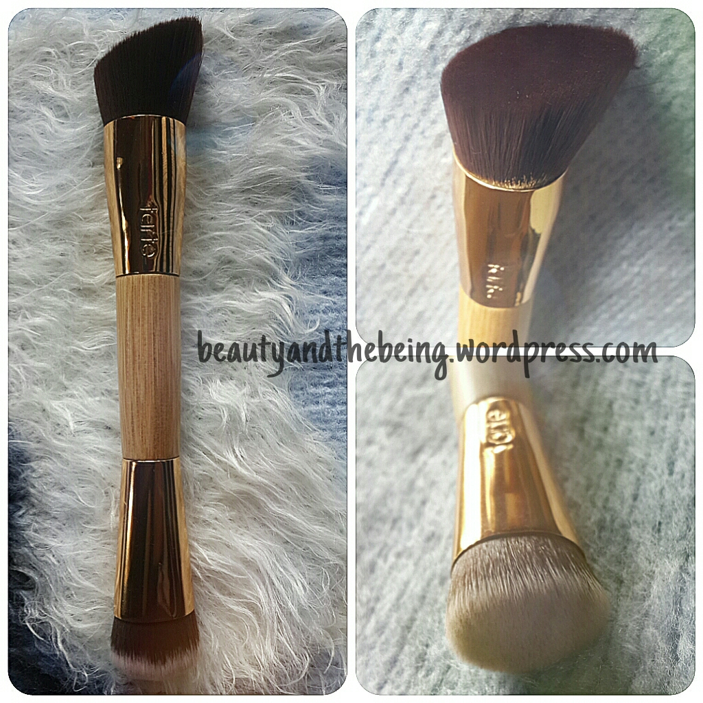Tarte the slenderizer bamboo contouring brush