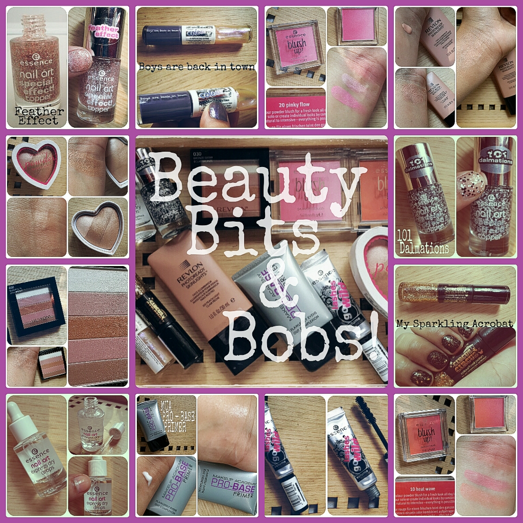 Beauty Bits and Bobs! (Essence; Revlon; MUA and H&M)