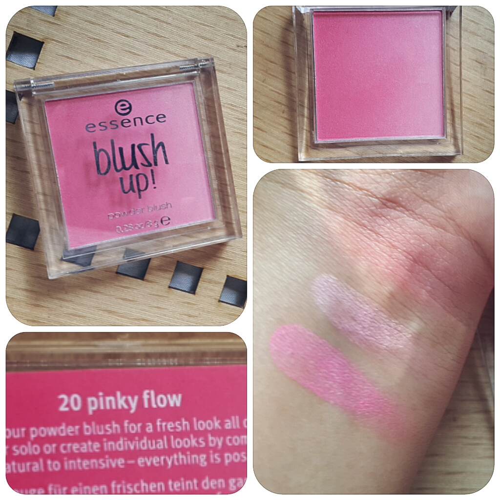 essence blush up pinky Flow