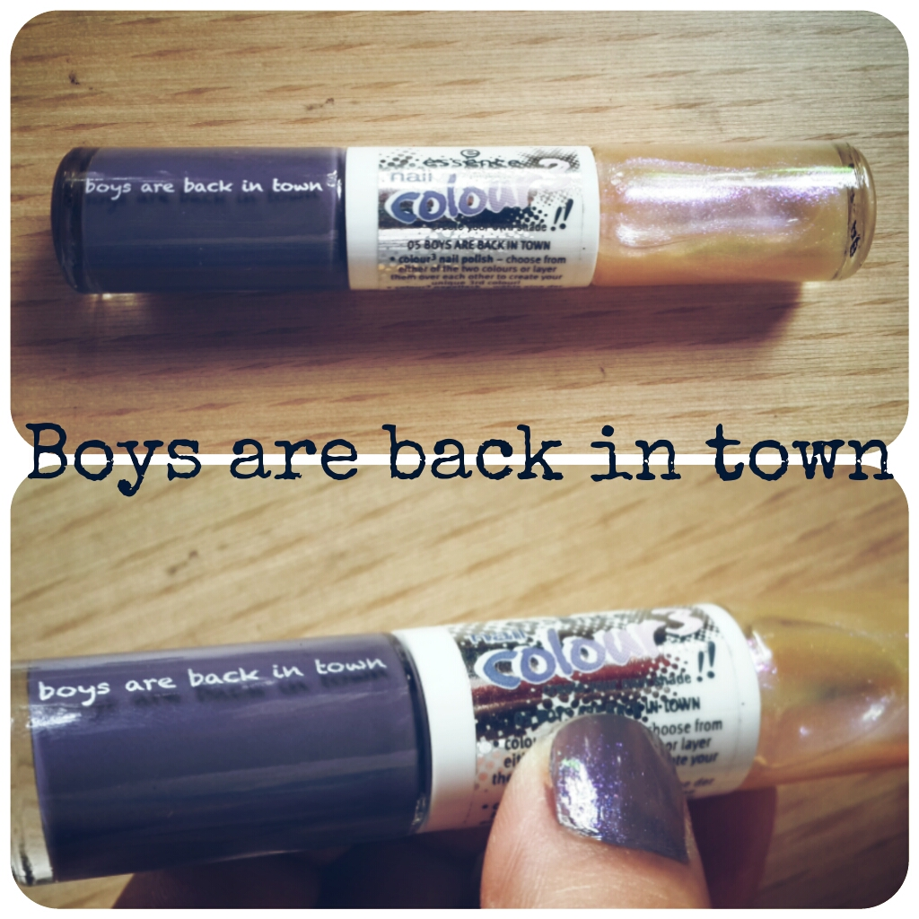 essence boys are back in town nail polish
