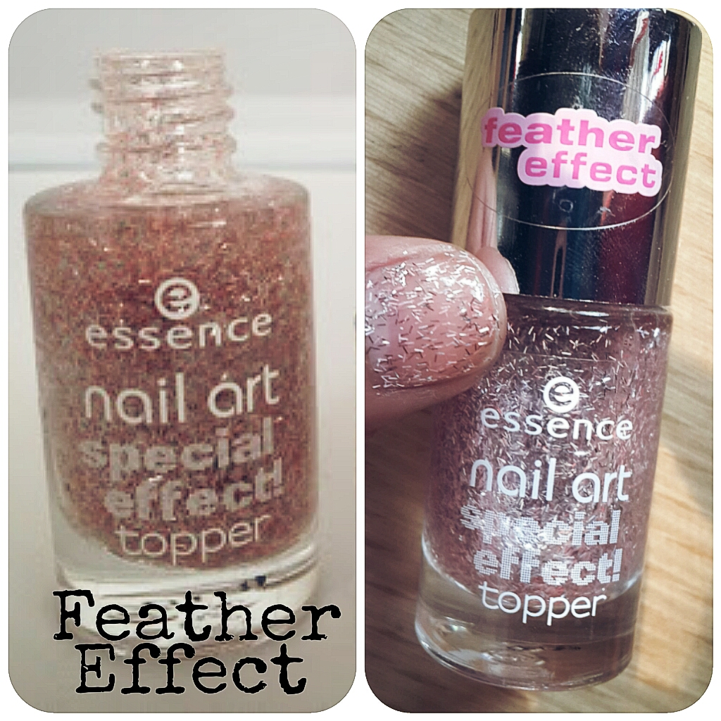 essence nail art feather Effect