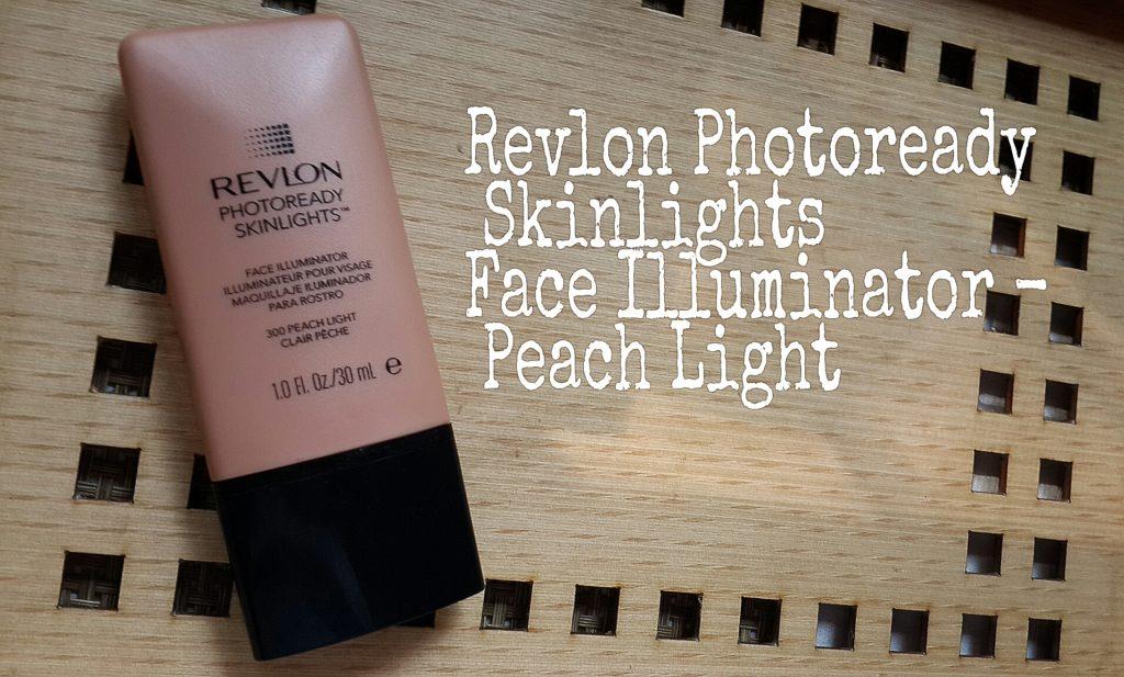 revlon Photoready Skinlights Face illuminator in peach light