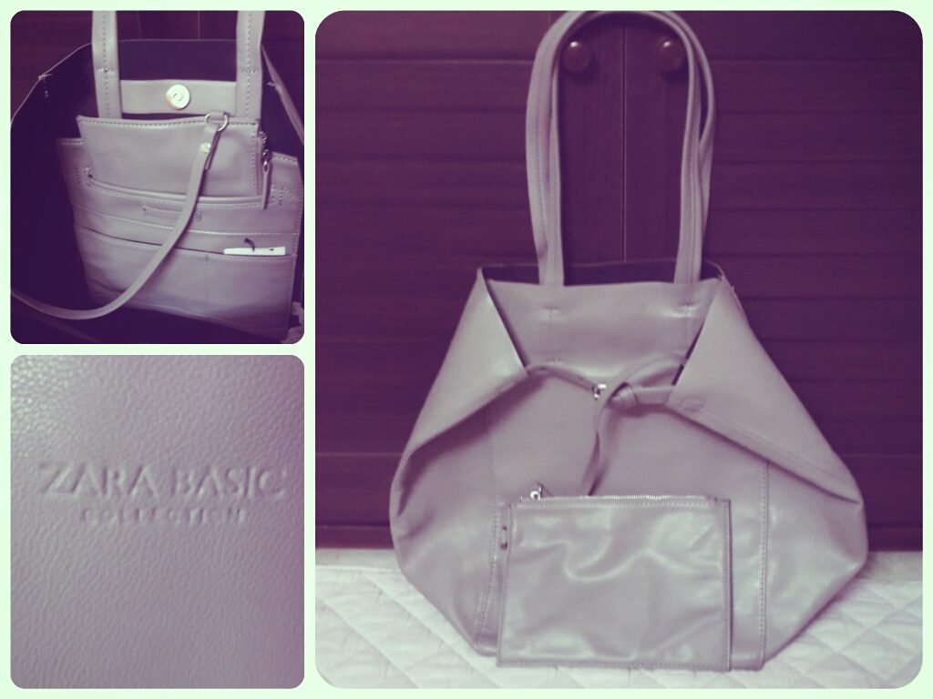 Zara Soft Shopper Bag (Grey)