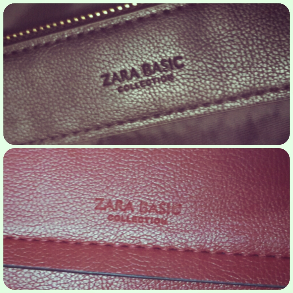 Zara Reversible Contrast Shopper Bag