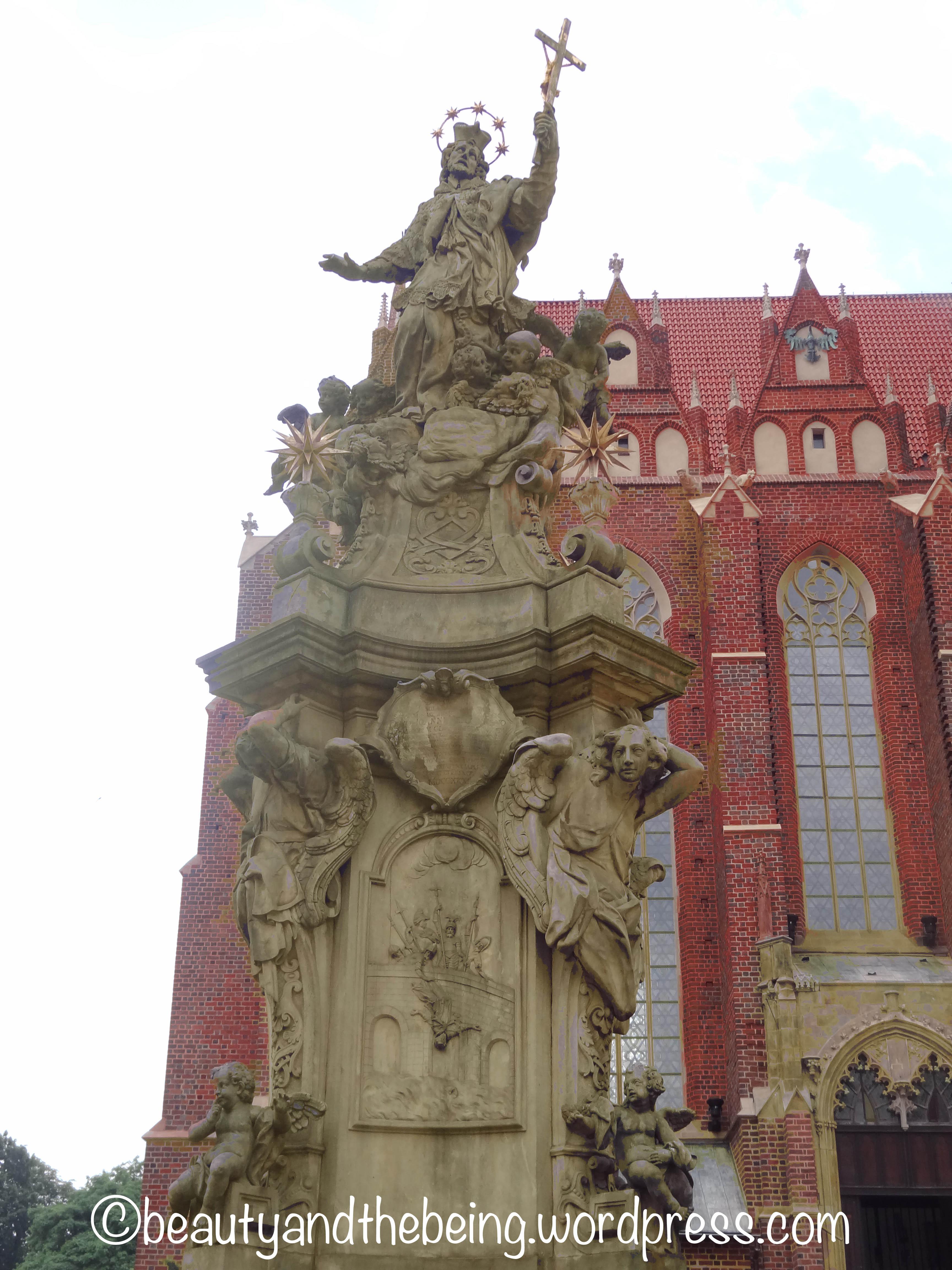 Baroque monument to Jan Nepomucen, beautyandthebeing.wordpress.com