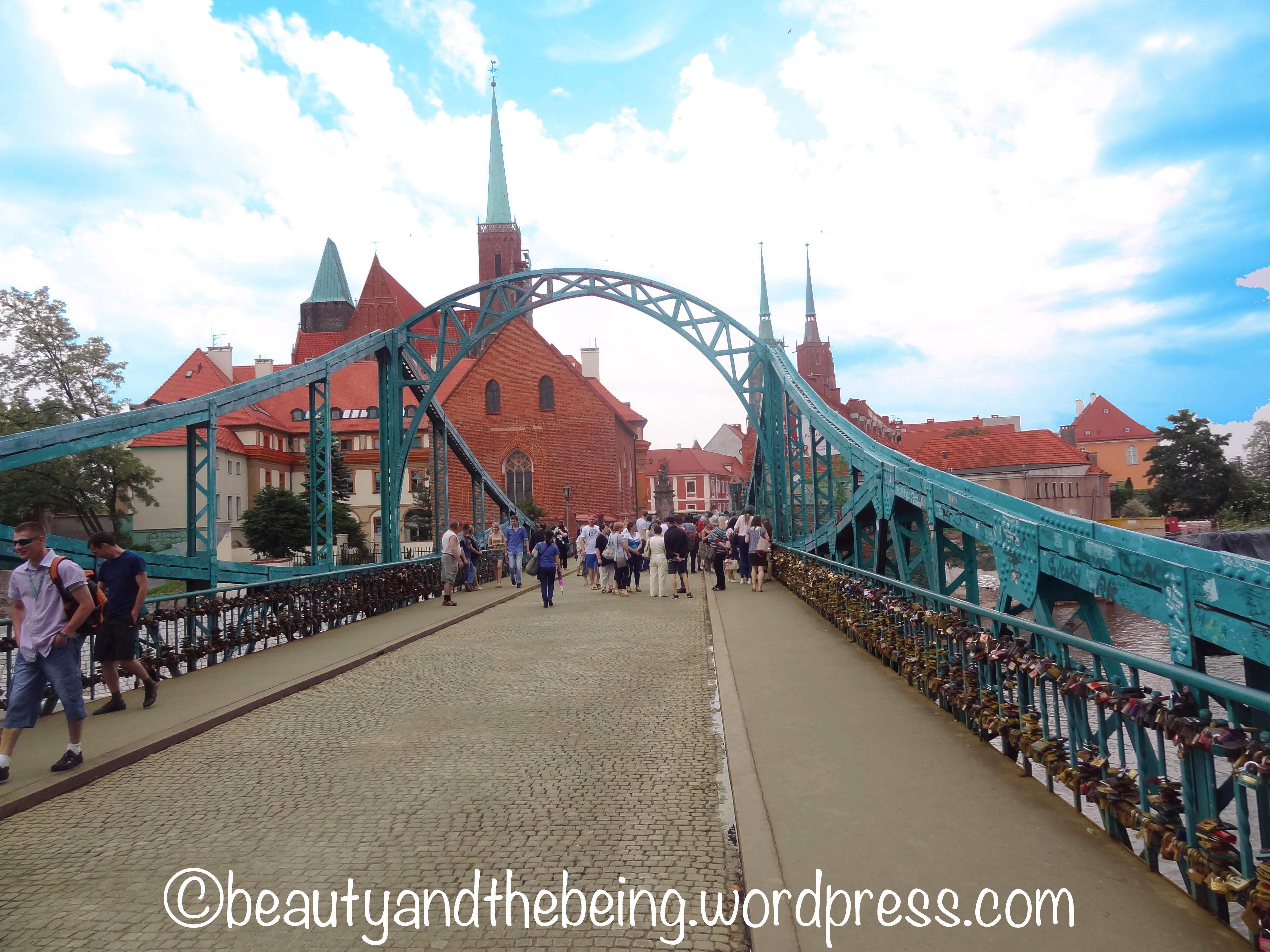 Tumski Bridge Wroclaw - beautyandthebeing.wordpress.com