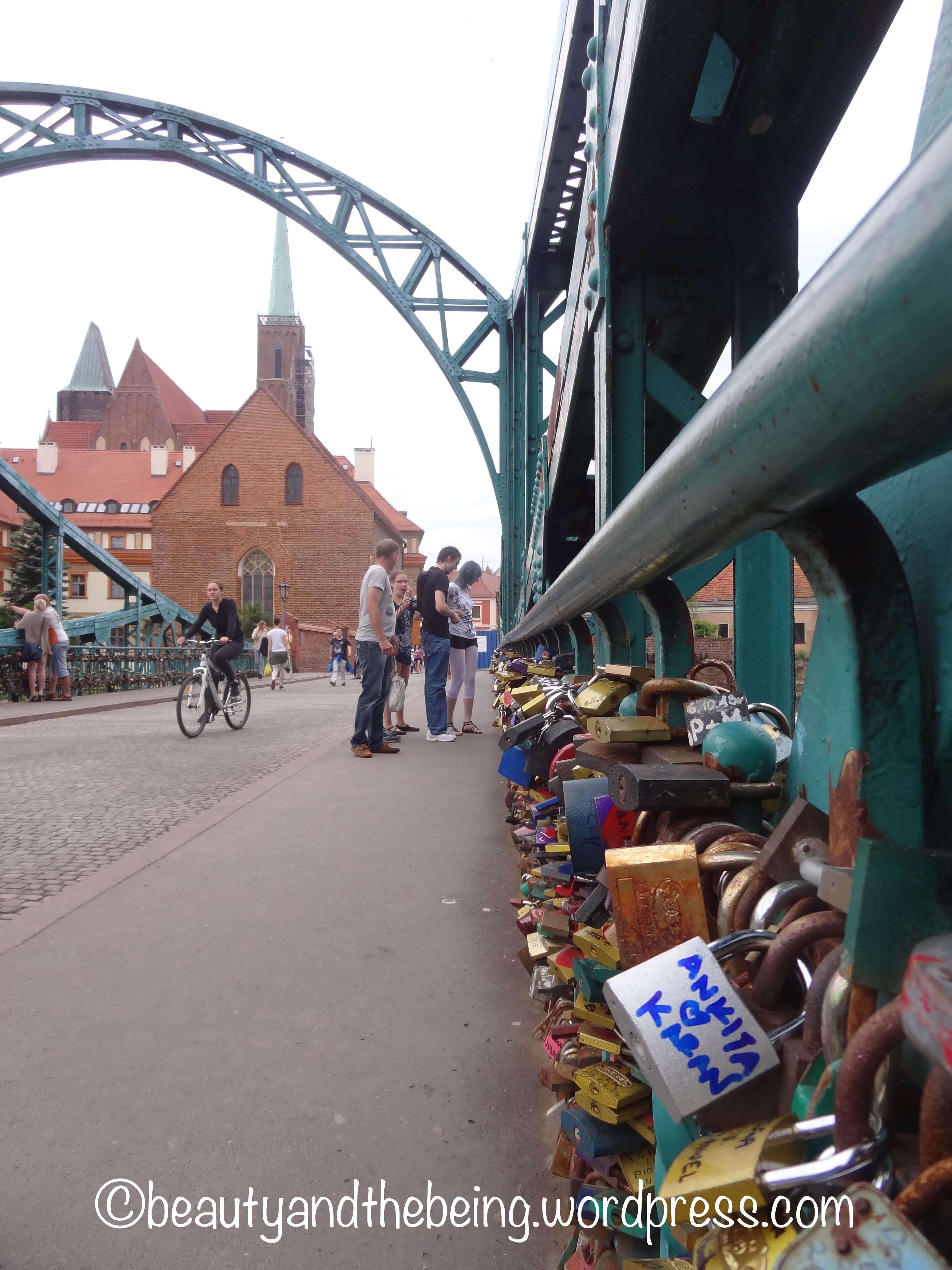 Tumski Bridge, Wroclaw - beautyandthebeing.wordpress.com