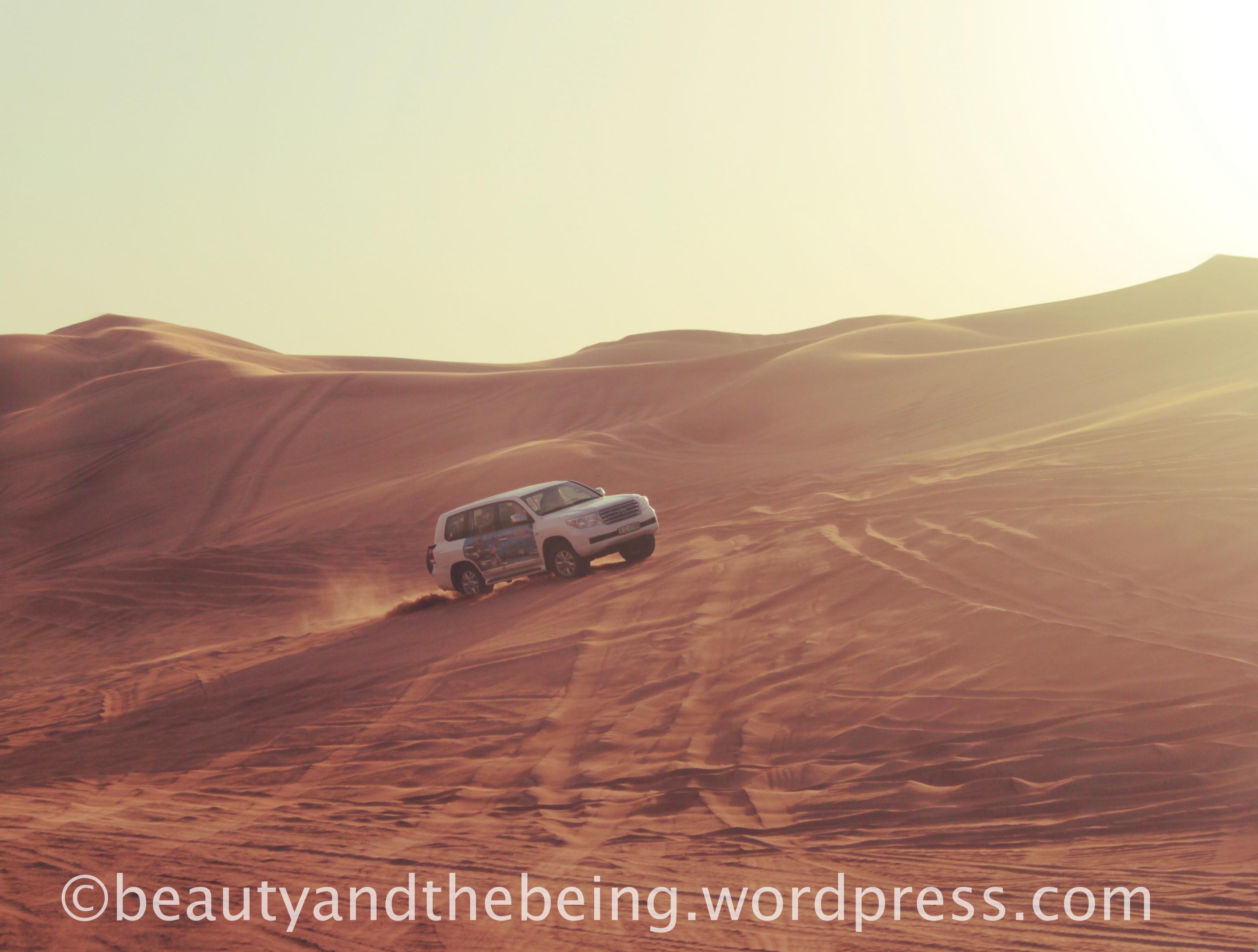 Dune Bashing with Funtours Dubai