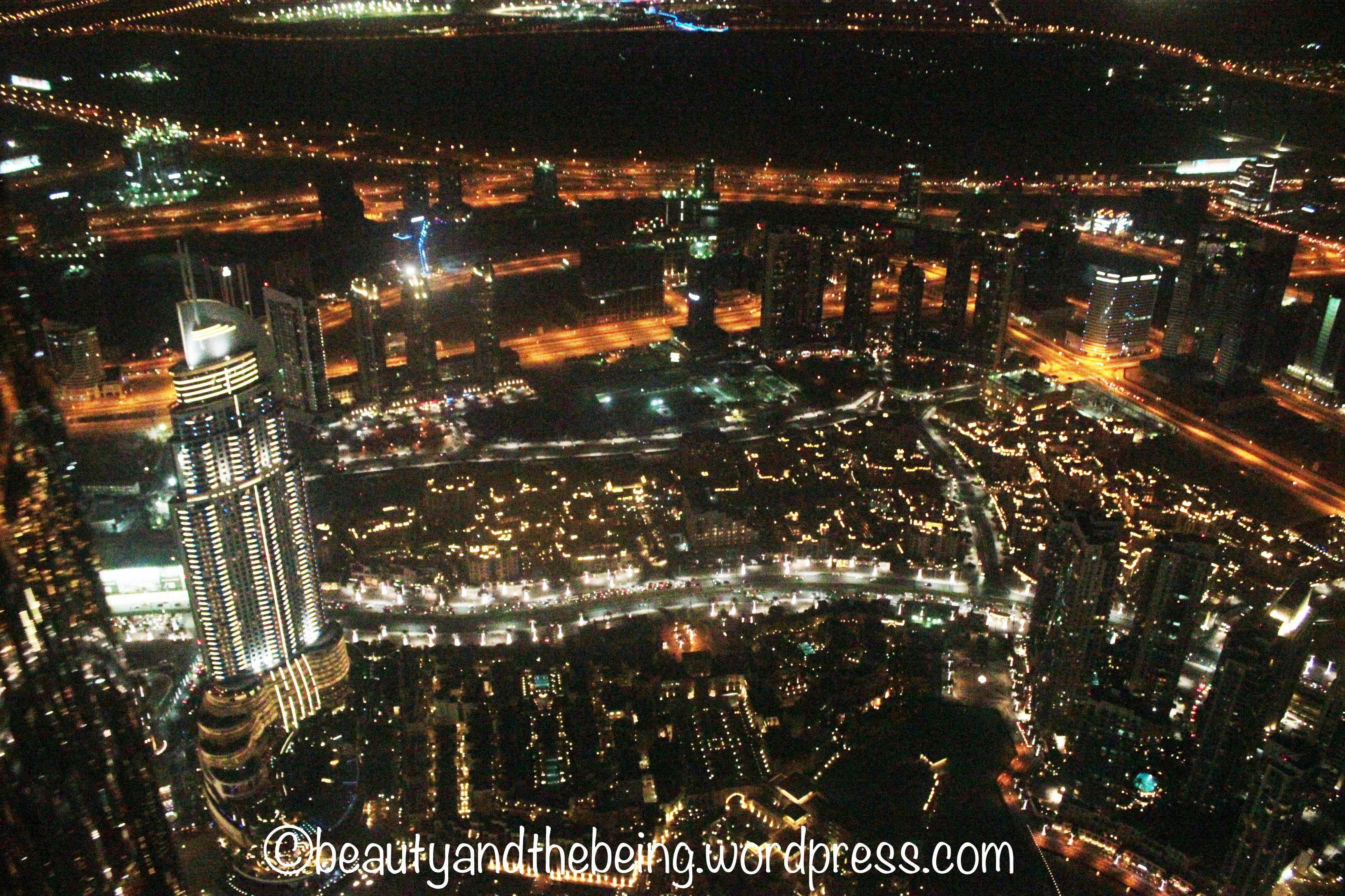 View from On Top Burj Khalifa