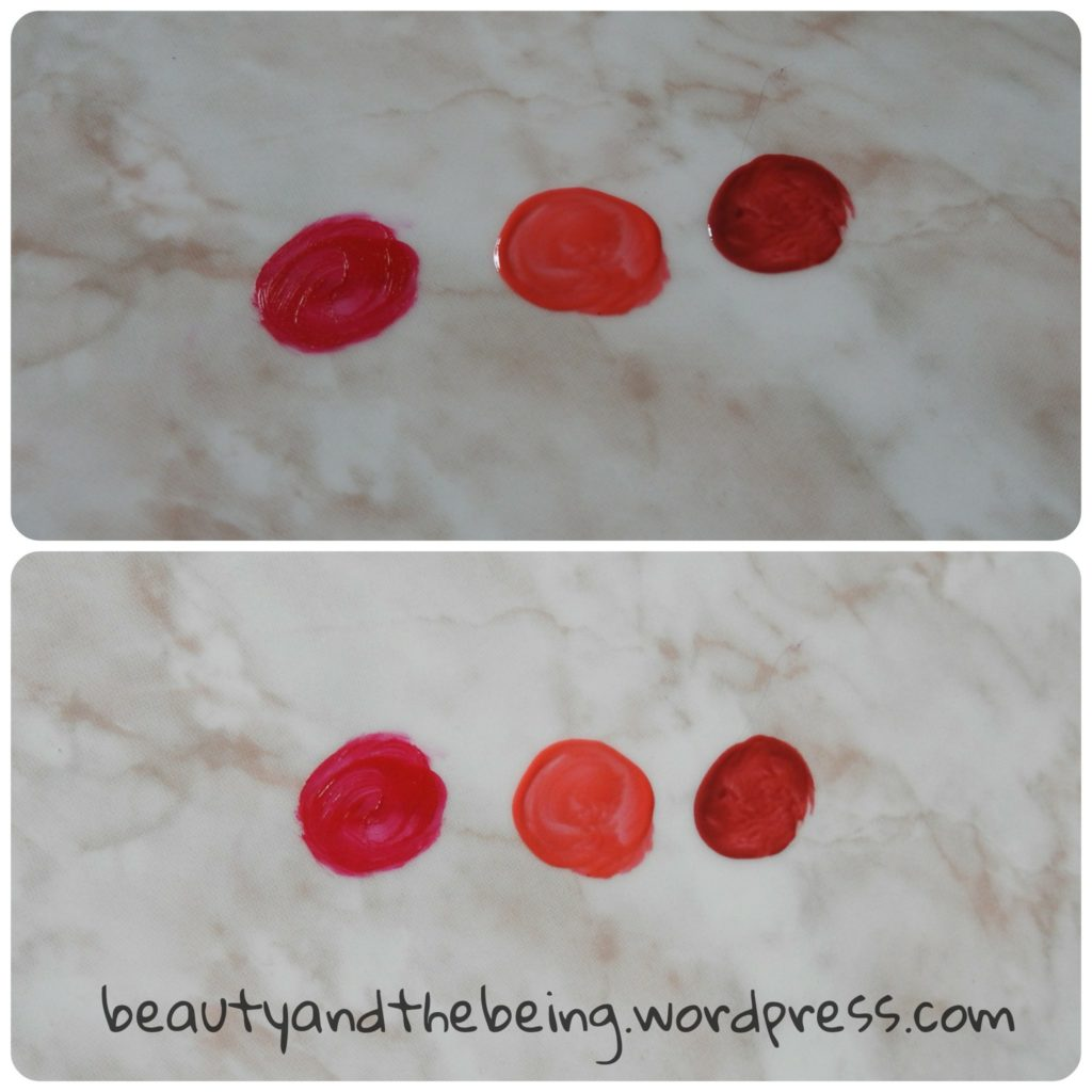 Accessorize Head over Heels Lipstick and Intense Lipgloss Swatches