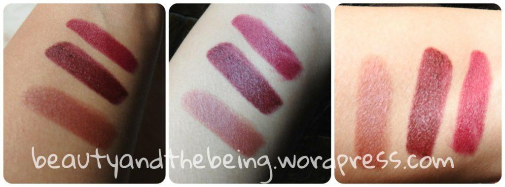 Accessorize Lipstick Swatches