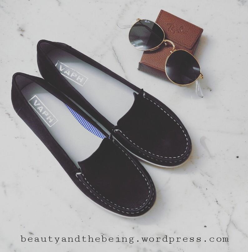 VAPH Gabby Black Loafers