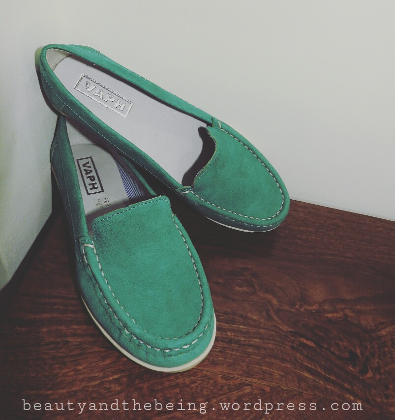 VAPH Gabby Turquoise Loafers