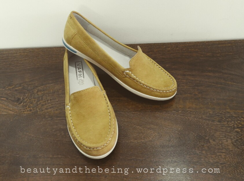 VAPH Gabby Yellow Loafers