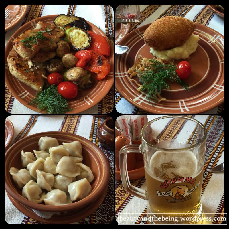 Food @Korchma Taras Bulba, Moscow