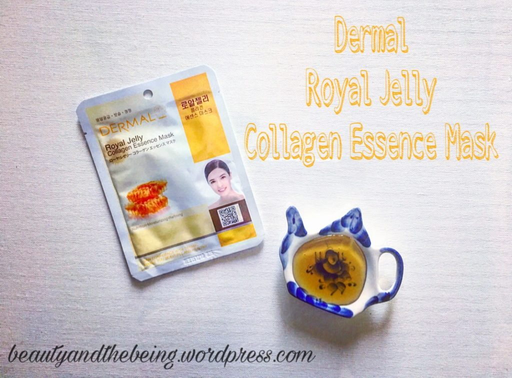 First Impression + Review | Dermal Royal Jelly Collagen Essence Mask