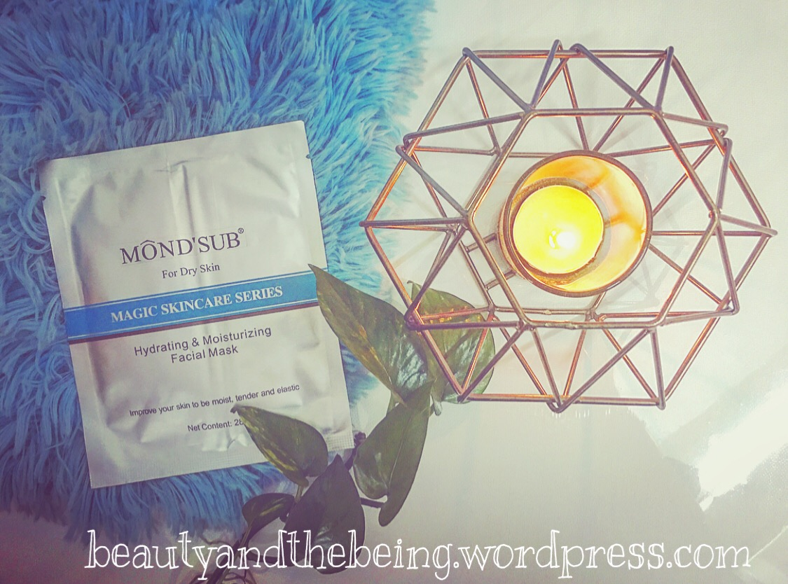 MOND'SUB Hydrating & Moisturizing Facial Mask Review