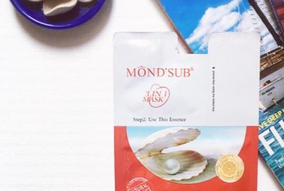 MOND'SUB Pearl Revitalizing & Brightening 3-in-1 Mask Review
