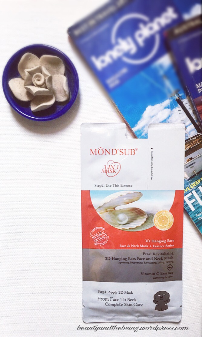 Getting #Sheetfaced with MOND'SUB Pearl Revitalizing & Brightening 3-in-1 Mask