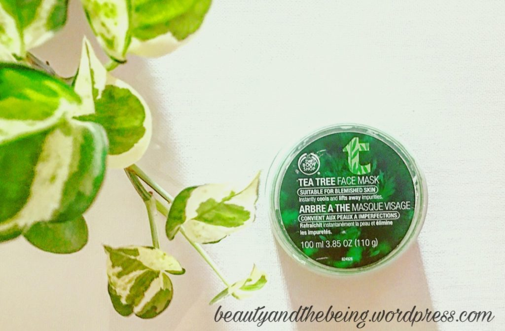 The Body Shop TEA TREE FACE MASK review