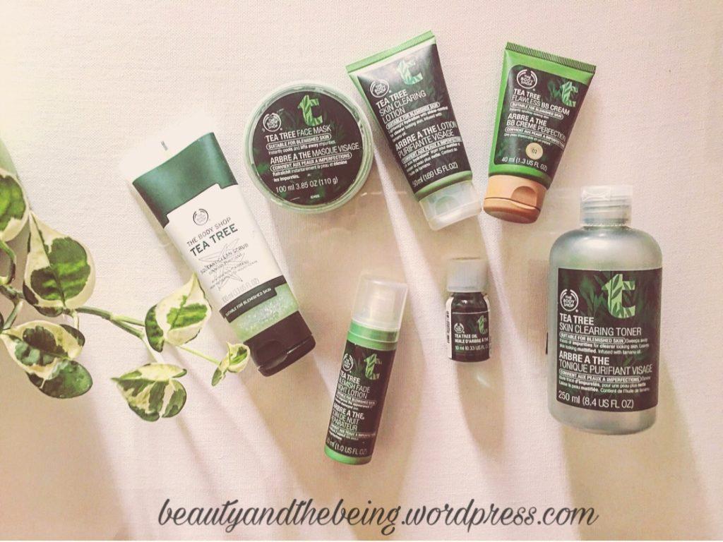 The Body Shop Tea Tree Skin Care Range Review