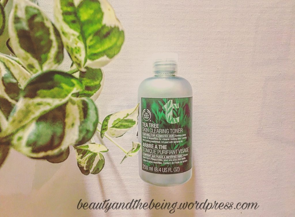 The body shop tea tree skin clearing toner review