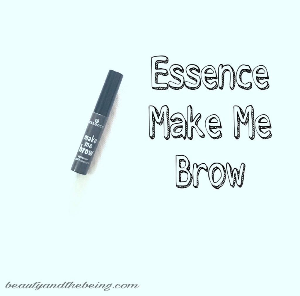 Essence Make Me Brow Eyebrow Gel Review