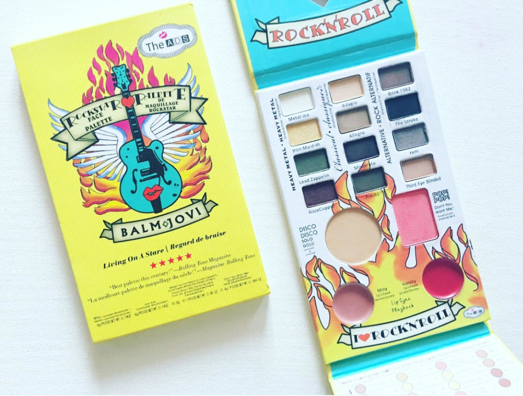 TheADS Balm Jovi Rockstar Face Palette Review