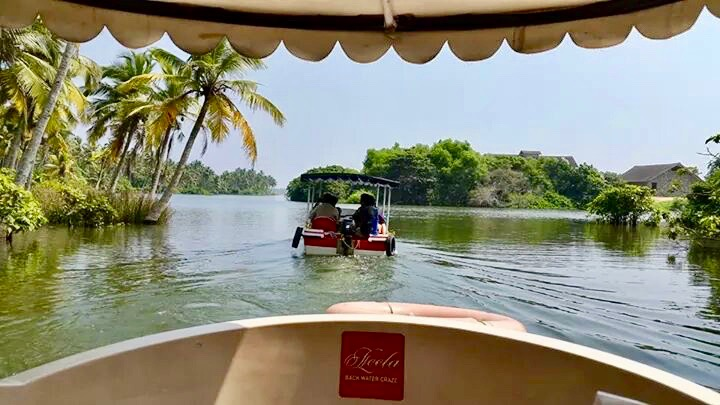 Backwaters at Poovar