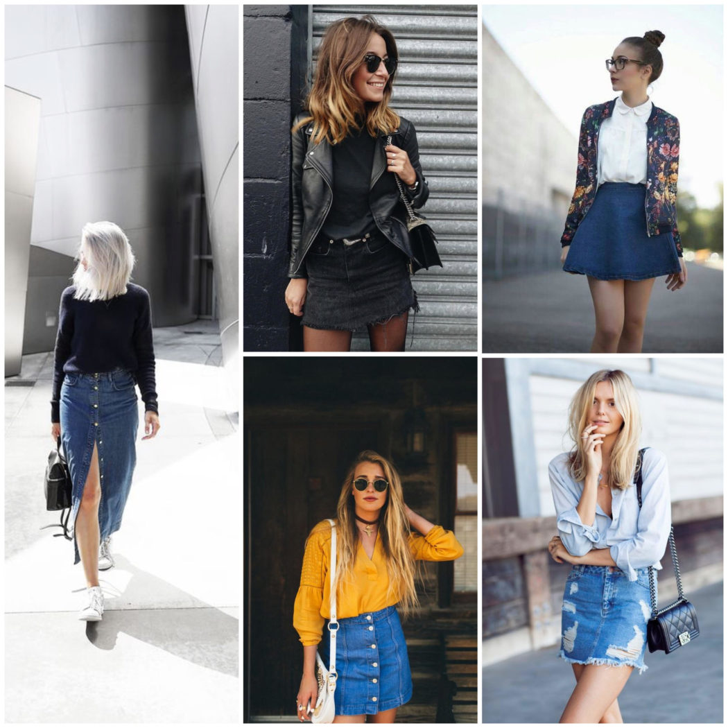 Fashion Series – How to Style a Denim Skirt: 9 Modern Ways | (Part 2)