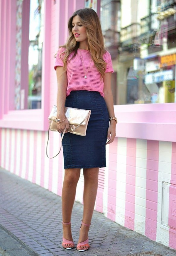 How to Style a Denim Skirt: 9 Modern Ways