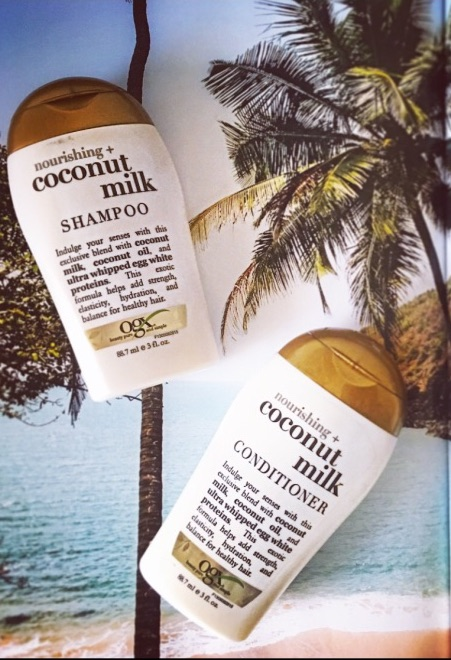 OGX Nourishing Coconut Milk Shampoo and Conditioner | Review