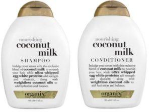 Ogx Coconut Milk Shampoo and Conditioner