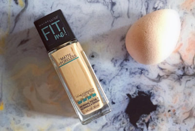 Review | Maybelline Fit Me Matte + Poreless Foundation