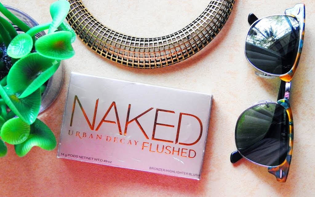 Urban Decay Naked Flushed Palette | Review and Swatches